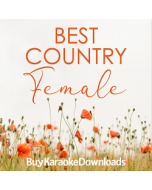 Female COUNTRY Hits 2018 v 1 Karaoke